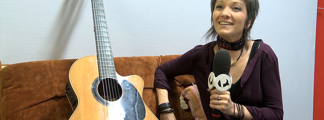 video Interview Soria - A l'occasion de son live à l'ACP Manufacture Chanson